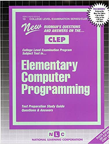 Elementary Computer Programming (COLLEGE LEVEL EXAMINATION
