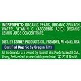Gerber Purees Organic 2nd Foods Baby Food Fruit