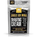 Pacific Shaving Company Shaving Cream Mini's 40 Pads, 1 Pack