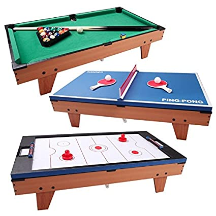 Amazoncom In Multi Game Swivel Rotating Game Table Air - Competition pool table