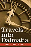Front cover for the book Travels into Dalmatia by Alberto Fortis