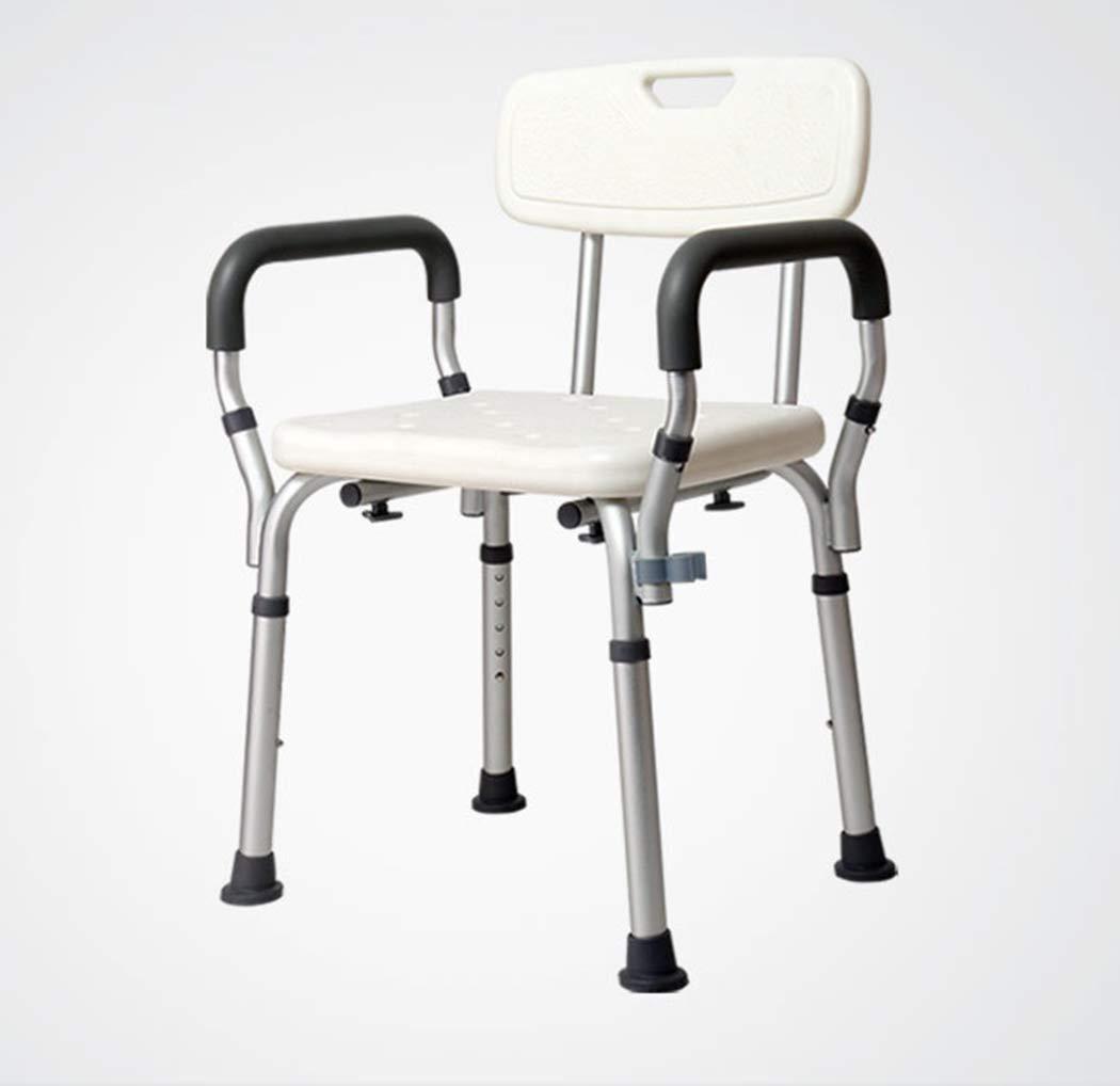 【クーポン対象外】 調節可能なバスシャワーの椅子取り外し可能な肘掛けとパッド入りの座席と背部大人のためのヘルスケアシャワーシート B07GBVP5T2 B07GBVP5T2, 温泉町:4b3cc777 --- ns2.theoryornot.com