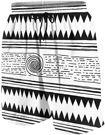 キッズ ビーチパンツ 幾何柄 幾何図 サーフパンツ 海パン 水着 海水パンツ ショートパンツ サーフトランクス スポーツパンツ ジュニア 半ズボン ファッション 人気 おしゃれ 子供 青少年 ボーイズ 水陸両用