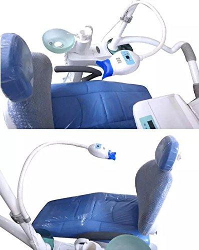 APHRODITE LED Teeth Whitening Unit Holding on Dental Chair with High Power YS-TW-D