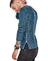 G by GUESS Men's Zipped Marled Knit...