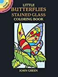 img - for Little Butterflies Stained Glass Coloring Book (Dover Stained Glass Coloring Book) book / textbook / text book
