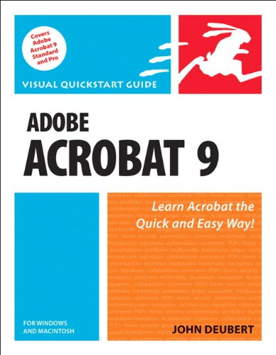 Download Adobe Acrobat 9 for Windows and Macintosh: Visual QuickStart Guide Pdf
