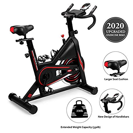 Exercise Bike, DMASUN Indoor Cycling Bike Stationary,...
