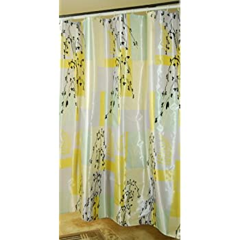 Amazon Com Decor Plus Polyester Satin Fabric Shower