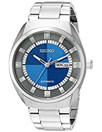 Seiko Men's SNKN73 Recraft Series Analog Display Japanese Automatic Silver Watch