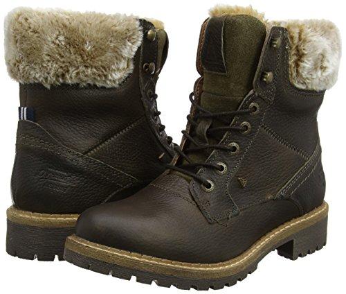 Lucia Biker khaki Donna Gaastra Tmb Beige High 2800 Stivaletti Fur dq8xw6XBU