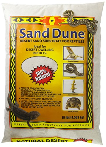 Blue Iguana Brand Sand Dune for Desert, 10 lb, White