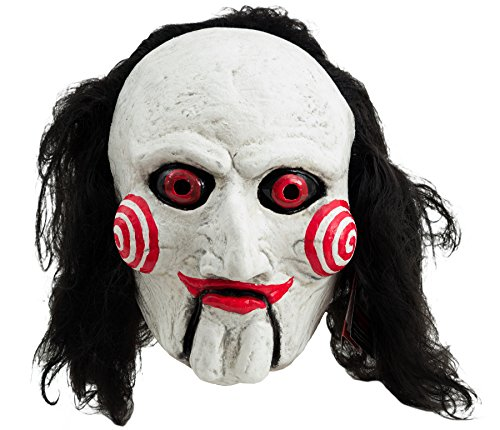 [Trick or Treat Studios Men's Saw-Billy Puppet Mask, Multi, One Size] (Saw Mask Halloween)