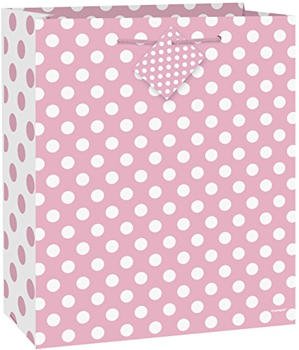 Light Pink Polka Dot Gift Bag ()