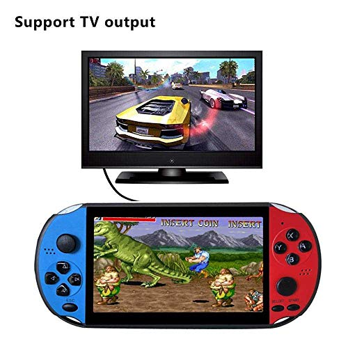 Retro Handheld Game Console,Portable Retro Video Game Console with 3000 Classic Arcade Games, 5.1 Inch Large Screen,FC Video Games with 8GB 32GB,Christmas Birthday Gifts Presents for Kids Children