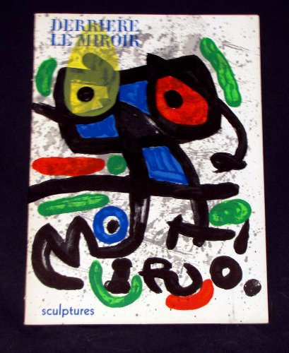 Derriere Le Miroir No. 186 ; Les Sculptures de Miro [2 ORIGINAL LITHOGRAPHS]