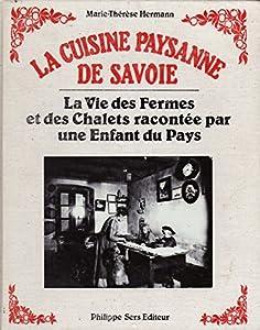 """Afficher """"La Cuisine paysanne de Savoie"""""""