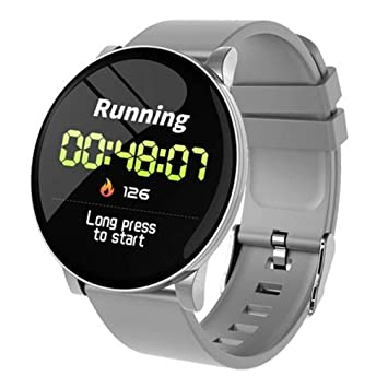 CWL W8 Smartwatch Fitness Tracker Watch IP67 Round Smart Watch con ...