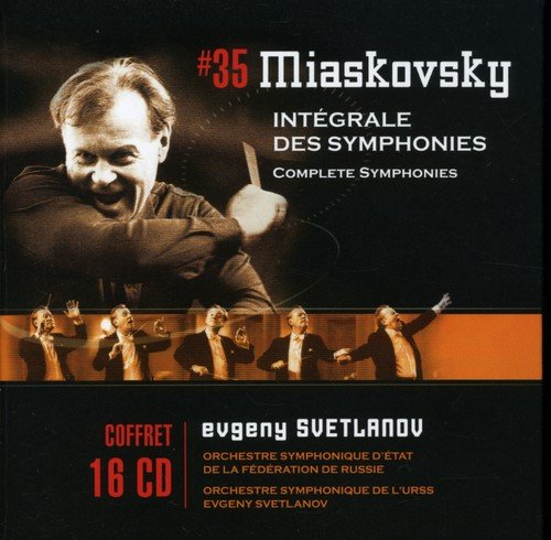 Miaskovsky: Symphonies (complete) - Marco Counter