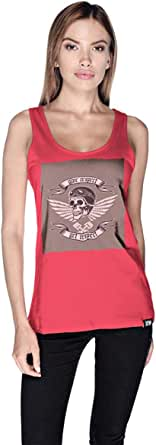 Creo Give Respect Tank Top For Women - L