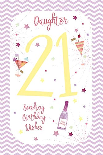 Wishing Well - Tarjeta de felicitación de 21 cumpleaños para ...