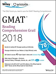 Wiley's GMAT Reading Comprehension Grail 2018