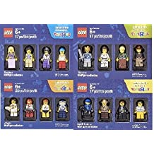 Lego Minifigures Bricktober 2016 Collection: 5004421: Musicians , 5004422: Warriors , 5004573: Athletes, 5004574: Cops and Robbers