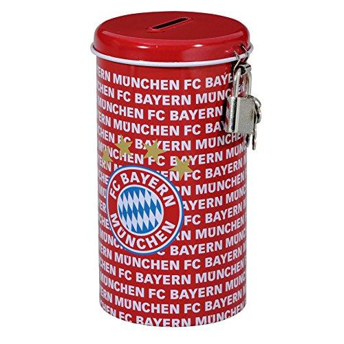 FC Bayern München Metallspardose / Spardose / Sparbüchse FCB
