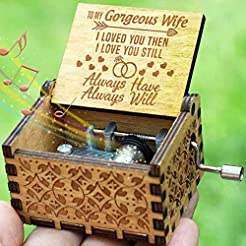 Engraved Music Box - You are My Sunshine...