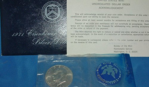 Roll Eisenhower Dollar (1971 S -S Uncirculated Eisenhower