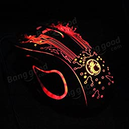 Pink Lizard Estone X9a 2400DPI Wired Gaming Mouse With 16-million-color Smart Breathing Light