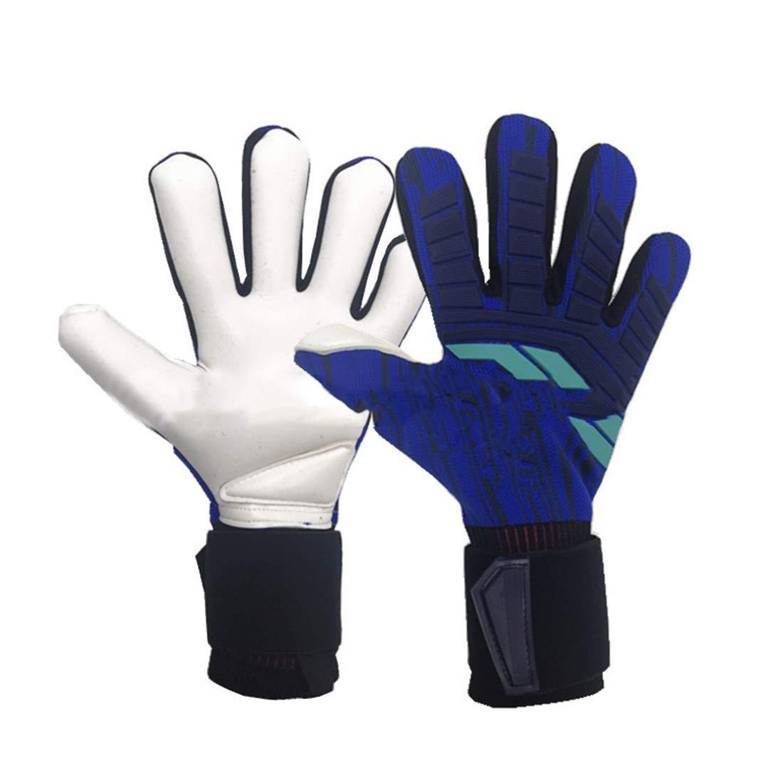 KERVINZHANG Fußball-Keeper Handschuh Greifen Anti-Rutsch-Stoßdämpfung Atmungsaktiv Haltbarkeit Training Futsal