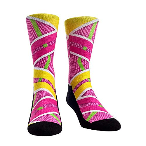 Movie Inspired Classic Pop Culture Socks (L/XL, Back to the Future Hoverboard Socks)
