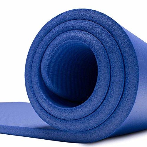 #DoYourFitness Esterilla para Fitness »Yamuna« / Colchoneta Extra Gruesa y Suave, Pilates, Gimnasia y Yoga/Estera Deporte/Medidas: 183 x 61 x 1,5 ...