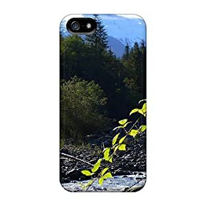 CluaSrb7905yCXKt ConnieJCole Glacier Creek Mount Baker Durable Iphone 5/5s Hard Flexible Soft Case