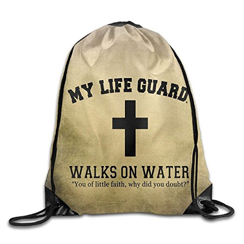My Lifeguard Walks On Water Easter Travel Tote Bag Natural