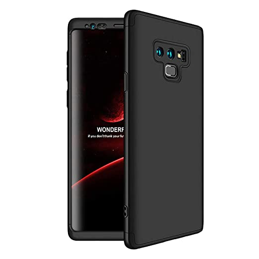 outlet store 513a3 0b016 HONTECH Compatible Samsung Galaxy Note 9 Case, Slim Fit 3 in 1 Hard PC  Shockproof Full Body Protective Cover