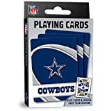 "MasterPieces NFL Dallas Cowboys Playing Cards,Blue,4"" X 0.75"" X 2.625"""