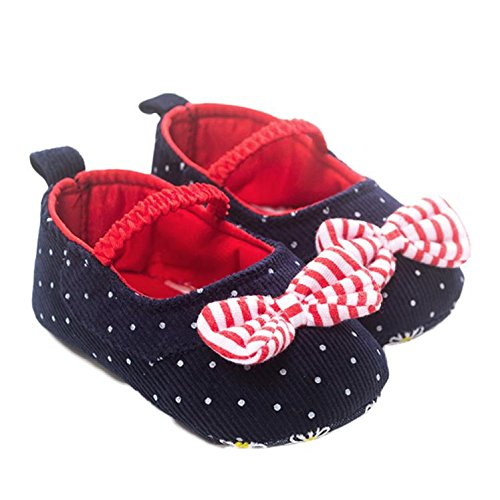 Ecosin Bowknot Sneaker Anti slip 0 6Month