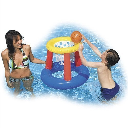 Intex Floating Hoops Basketball Game Colors May Vary,2 Pack,Color May Vary