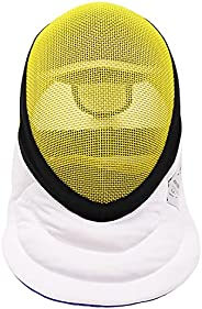 LEONARK Fencing Epee Mask Hema Helmet CE 350N Certified National Grade Masque with Protective Bag