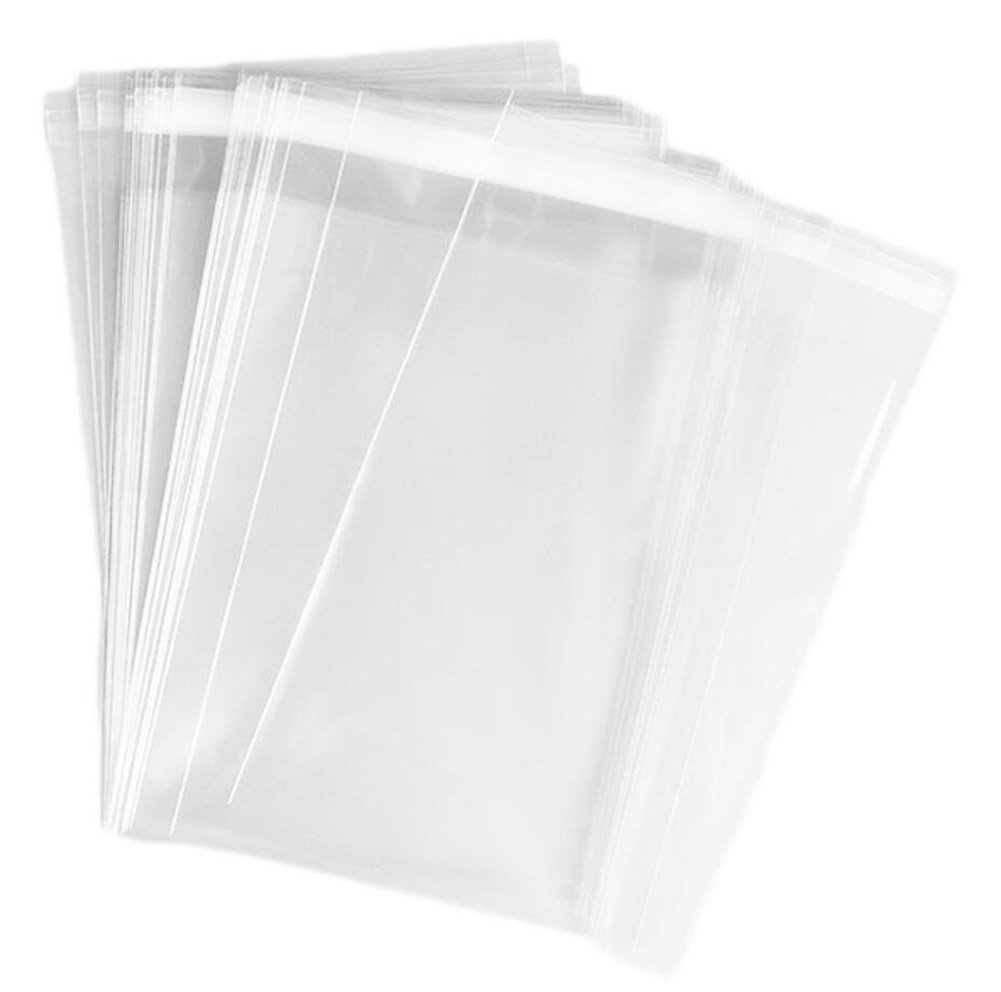Soap Candle Cookie TOPWEL 2 X 100 Pcs 4x6 Clear Resealable Cello//Cellophane Bags Good for Bakery