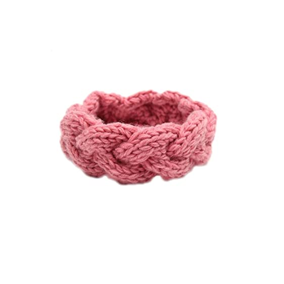 RICCOS ( TM ) Fashion Women Crochet Headband Knit Hairband Wide ...