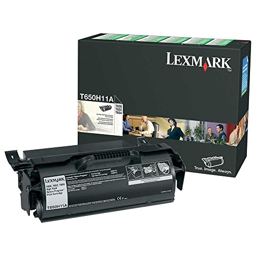 Lexmark T650H11A OEM Toner - T650 T652 T654 T656 Series High Yield Return Program Toner (25000 Yield) OEM