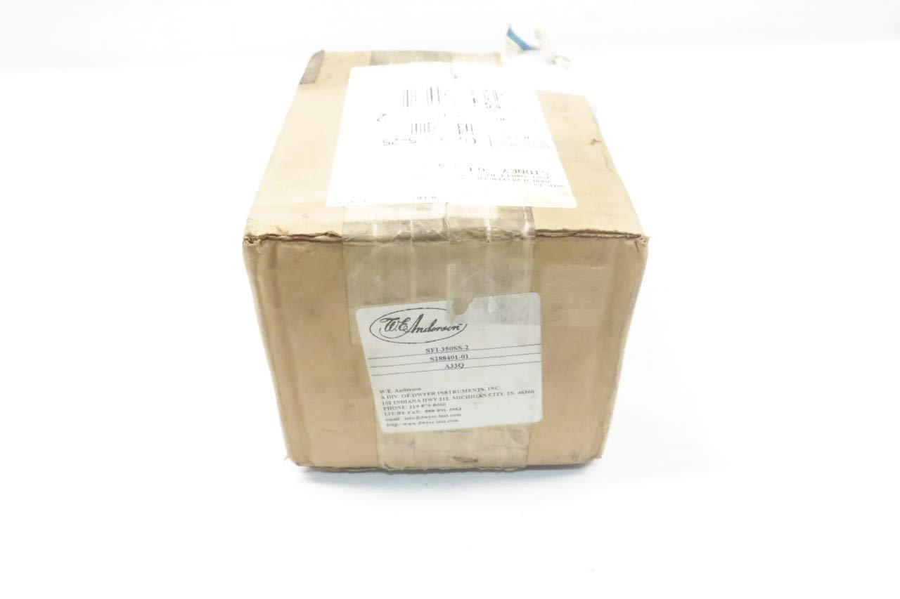 WE Anderson SFI-350SS-2 Flow Indicator D641304