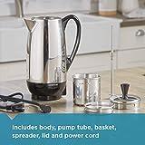 Farberware 12-Cup Percolator, Stainless
