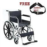 MCP Dura Rexine Mag Wheel Regular Foldable Wheelchair
