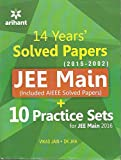 JEE Main Solved Papers (AIEEE & JEE Main 2014-2002) with 10 Complete Practice Sets (Old Edition)