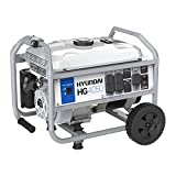 Hyundai HG4050 Portable Gas Powered Generator, 3000 Running Watts/4050 Peak Watts