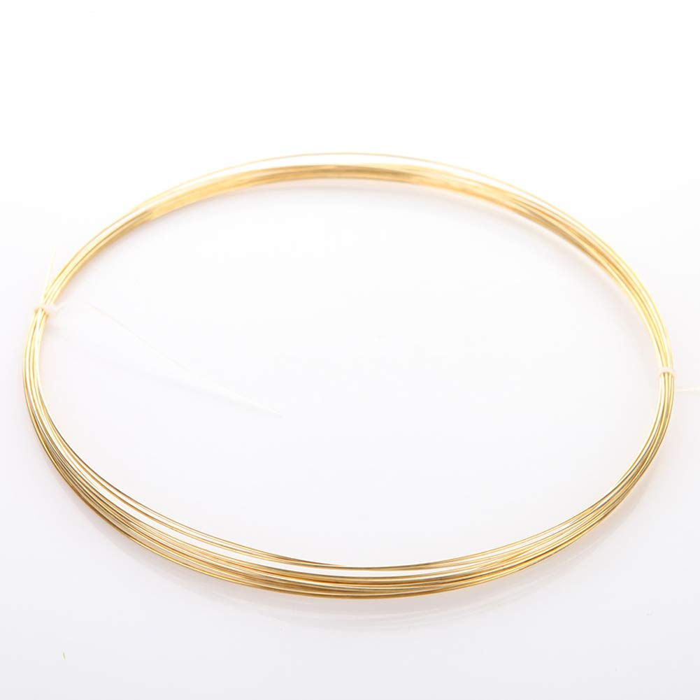 H62 Brass Wire Conductive Golden Copper Line Rod Industry Experiment DIY Wires Material 3mm Diameter,1kg